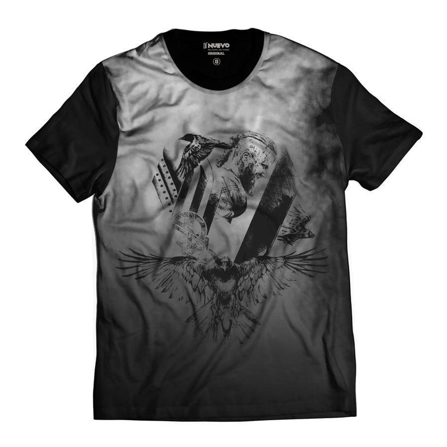 Camiseta Vikings Ragnar Lothbrok Exclusiva