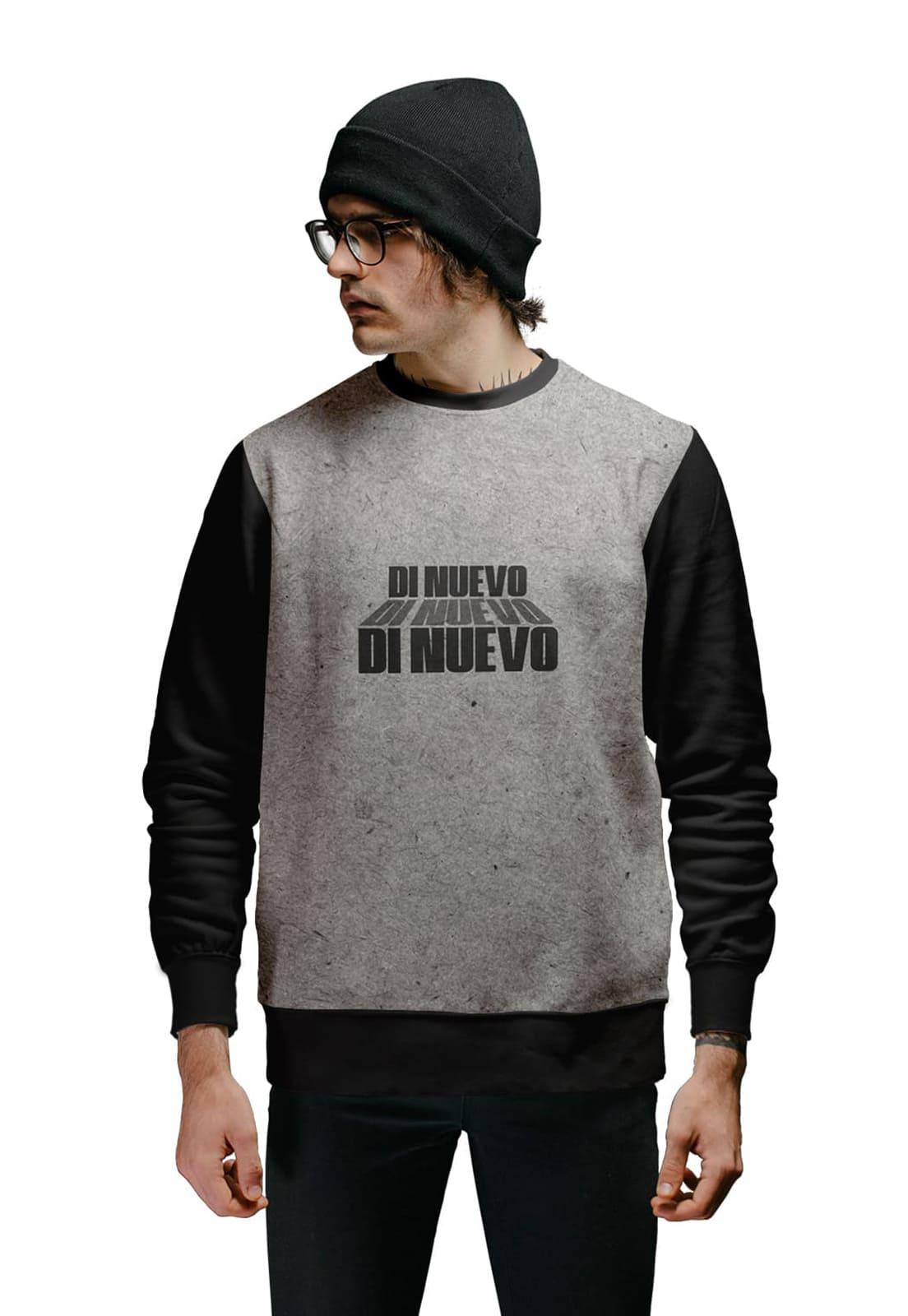 Moletom Masculino New Collection Di Nuevo Fontes Street Wear