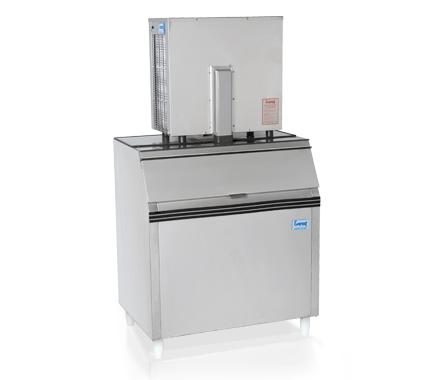 Máquina de gelo em escama EGE 300 M/100 (Produção 346 KG/Dia)