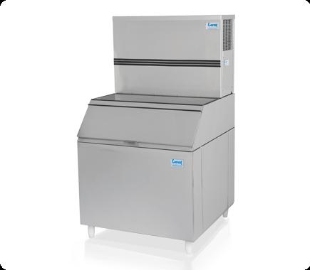 Máquina de gelo em cubo EGC 150MA/250 (Produção 162 KG/Dia)