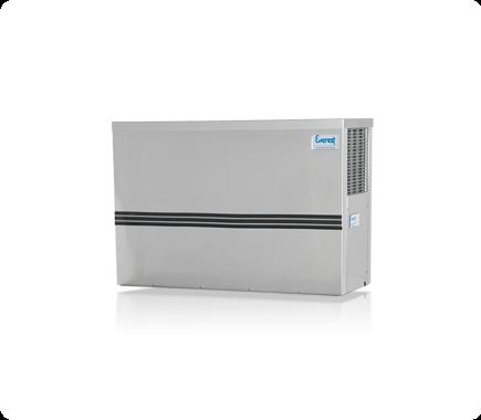 Máquina de gelo em cubo EGC 150MA (Produção 162 KG/Dia)