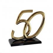 50 em bronze polido