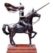 Cavaleiro Medieval Escultura