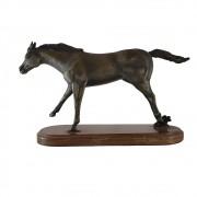 Escultura Cavalo corrida