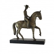 Cavalo Lusitano Trotando