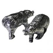 Urso Wall Street Alumínio