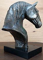Cavalo Lusitano Busto 1