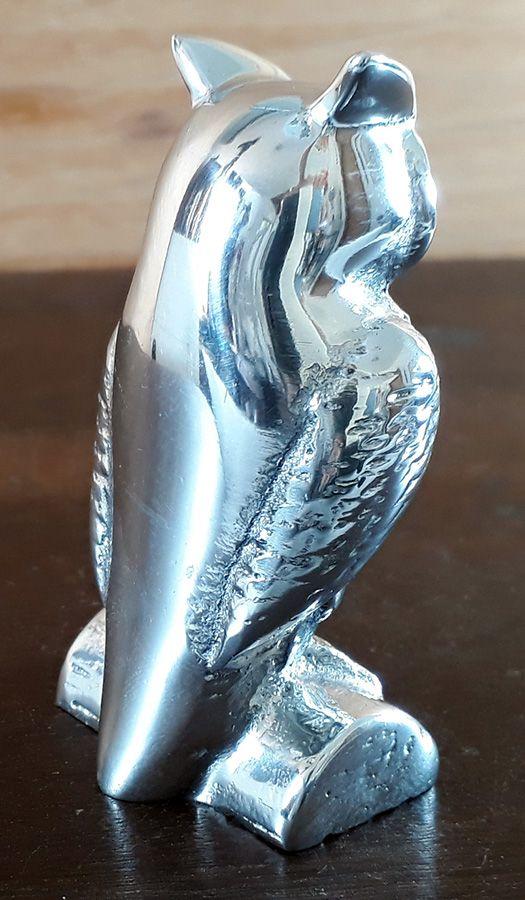 Coruja em Alumínio