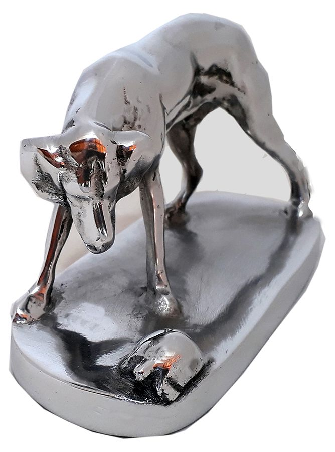 O Cão e a Tartaruga Escultura