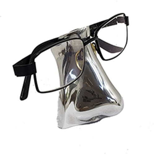 Porta Óculos Nariz em Alumínio