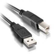 Cabo USB 2.0 p/ Impressora A+B 10mts c/ Filtro Exbom CBX-U2AMBM100