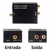 Conversor de Audio Digital p/ Analógico Rca Xtrad XT-5528