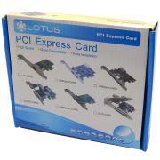Placa de Rede PCI-E Lotus