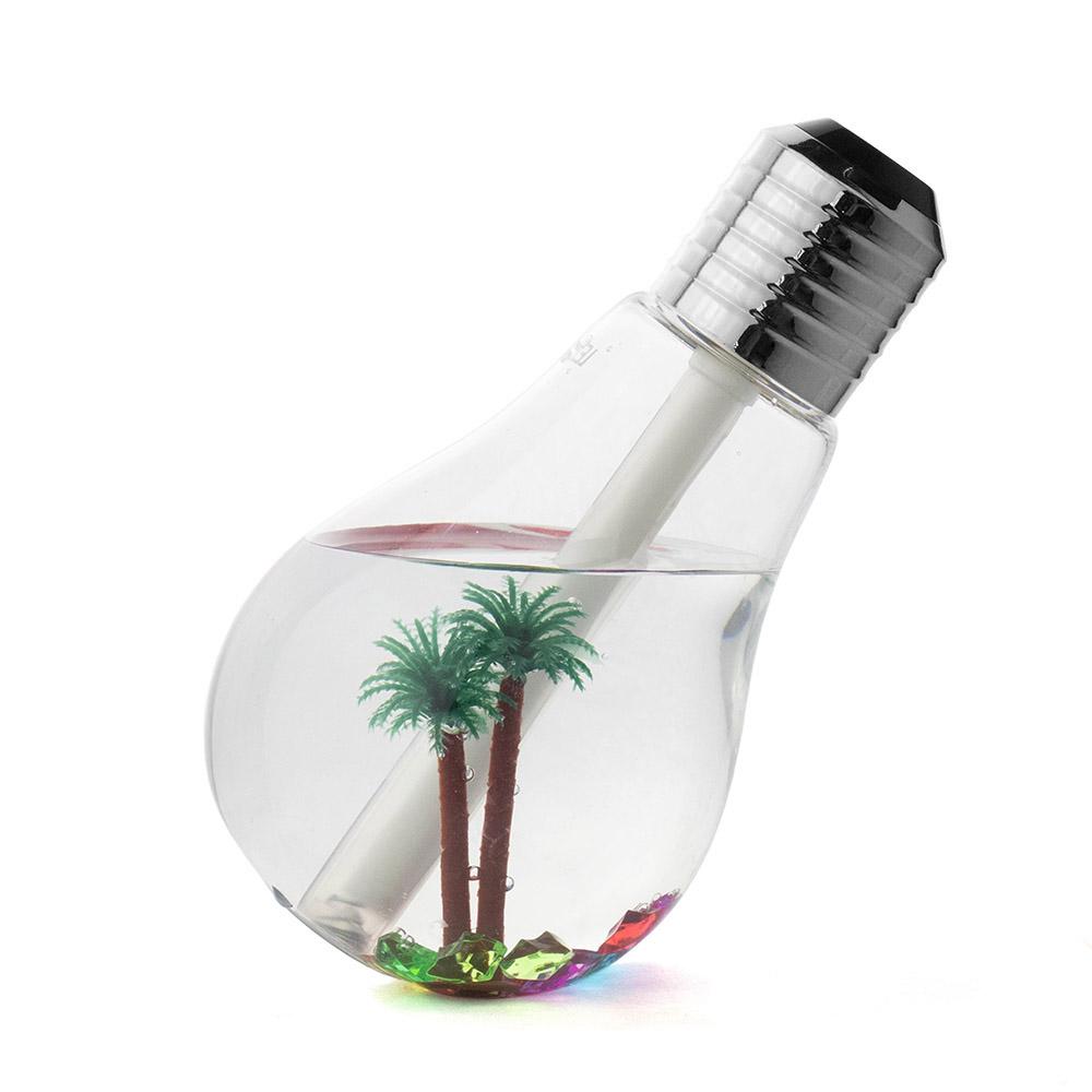 Aromatizador Elétrico Difusor de Aromas para Ambiente Lâmpada com LED de 400ml Lelong LE-2320
