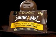 Chocolate SABORAMEL Banana Bombom 10g (uni)