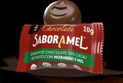 Chocolate SABORAMEL Morango Bombom 10g (uni)