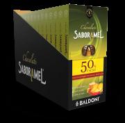 Display - 15 unidades - Chocolate SABORAMEL Abacaxi com Pimenta Tablete  100g (uni)