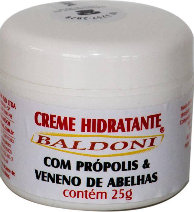 CREME HIDRATANTE COM PRÓPOLIS E VENENO DE ABELHAS 25G