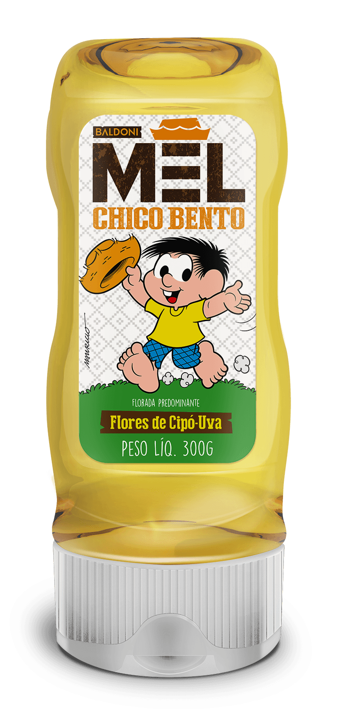 MEL CHICO BENTO FLORES DE CIPÓ-UVA BISNAGA 300G