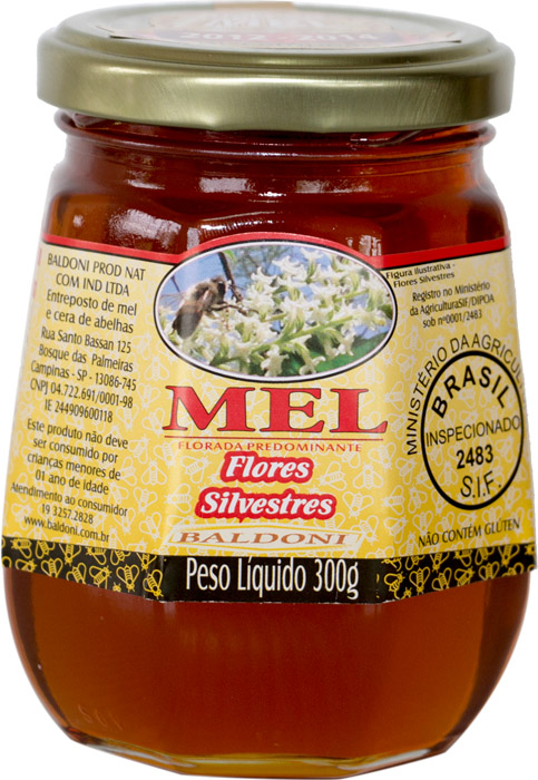 MEL DE FLORES SILVESTRE POTE 300G