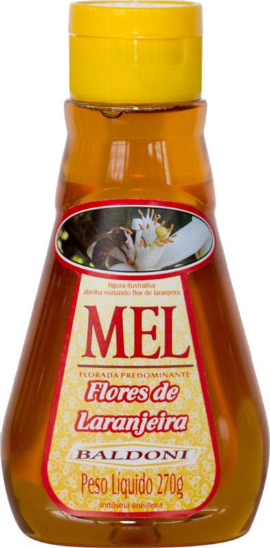 MEL FLORES DE LARANJEIRA BISNAGA 270G