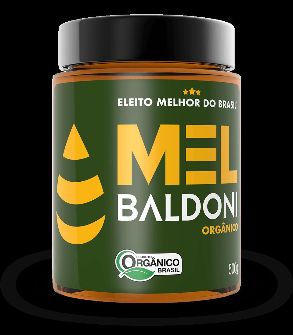 Mel Orgânico BALDONI Pote 500g