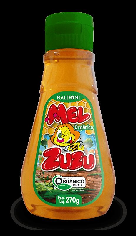MEL ORGÂNICO DA ZUZU - BISNAGA 270g