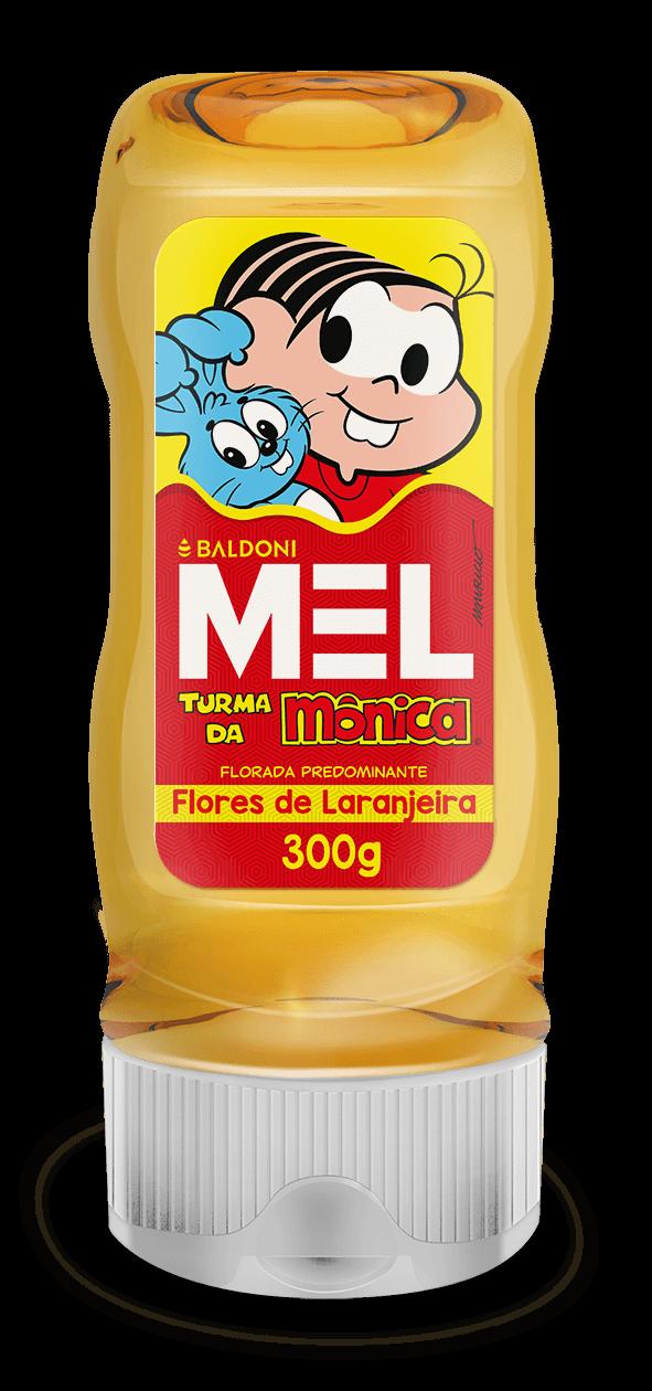 Mel TURMA DA MÔNICA Laranjeira Bisnaga 300g