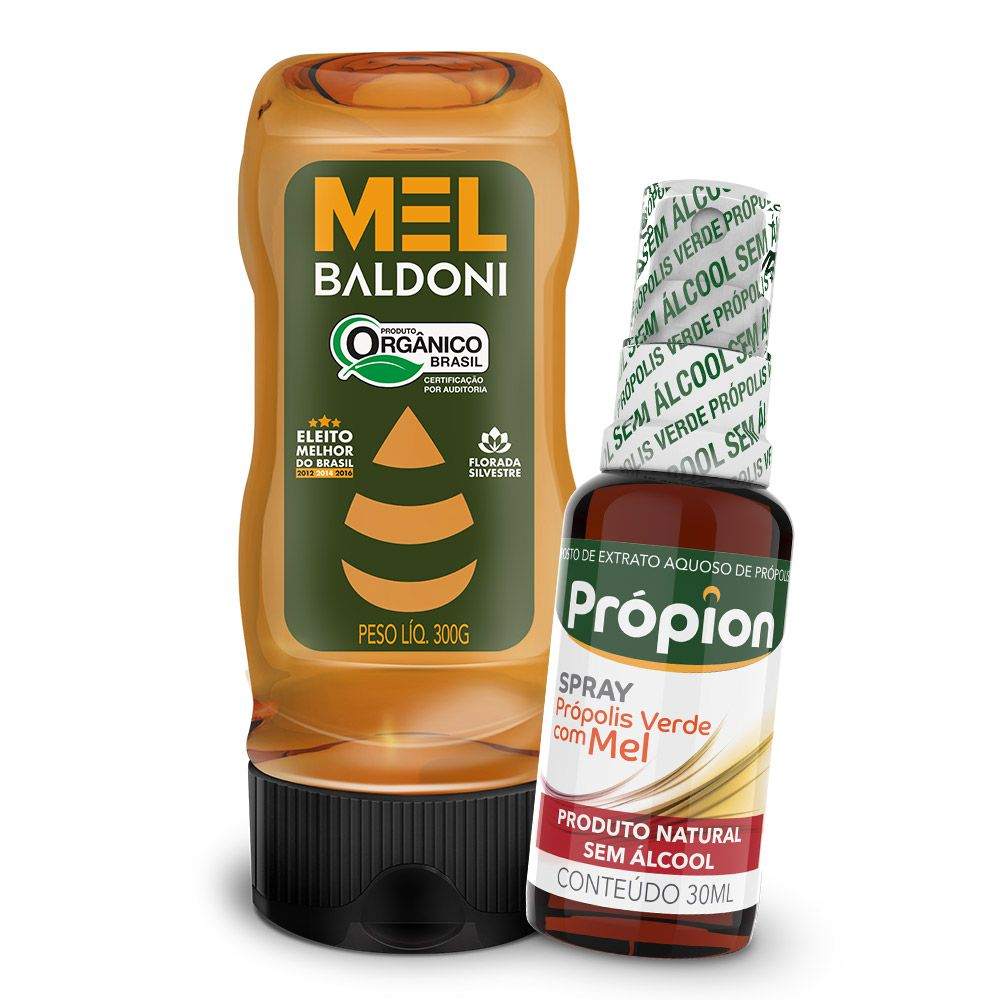Mini KIT - Mel e Própolis