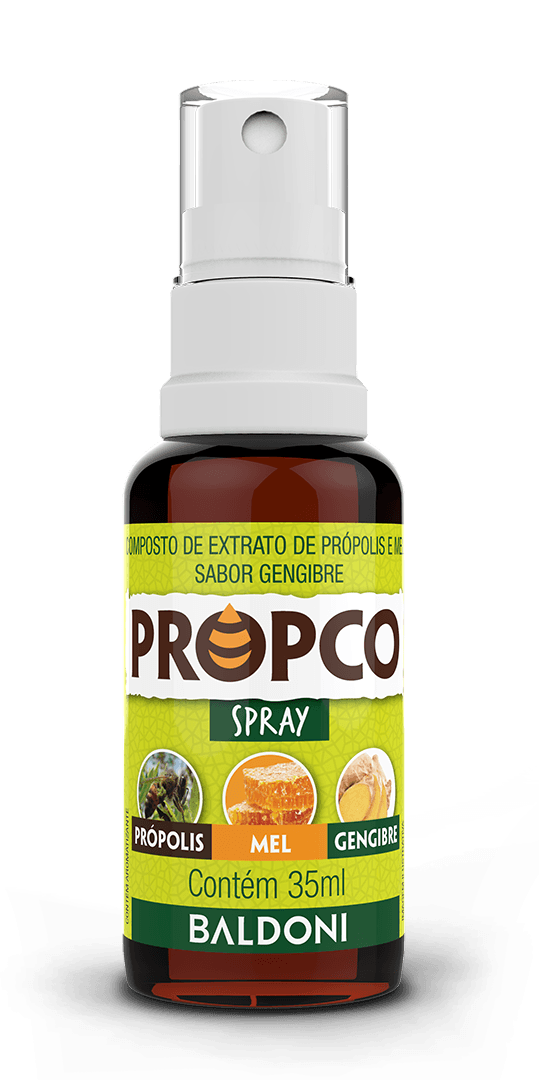 PROPCO Spray Propolis, Mel e Gengibre 35ml