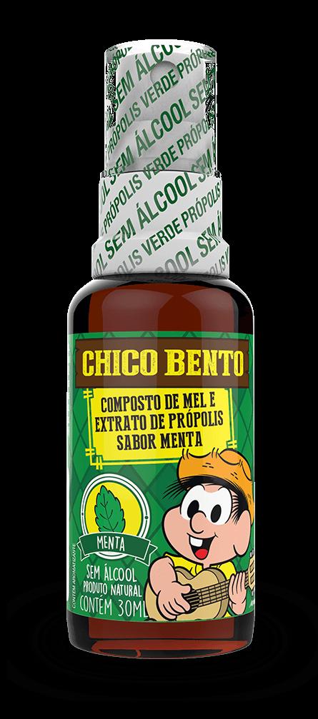 PRÓPION CHICO BENTO MENTA - SPRAY DE PRÓPOLIS SEM ÁLCOOL SABOR MENTA