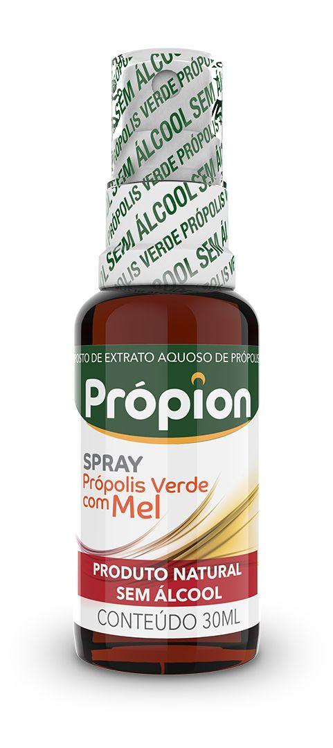 PRÓPION MIX SPRAY - SPRAY DE PRÓPOLIS SEM ÁLCOOL COM MEL