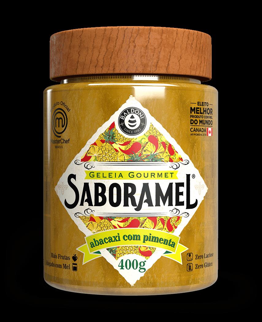 SABORAMEL Abacaxi e Pimenta 400g