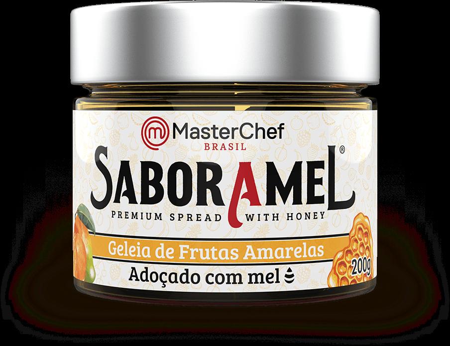 SABORAMEL MASTERCHEF FRUTAS AMARELAS COM MEL 200G