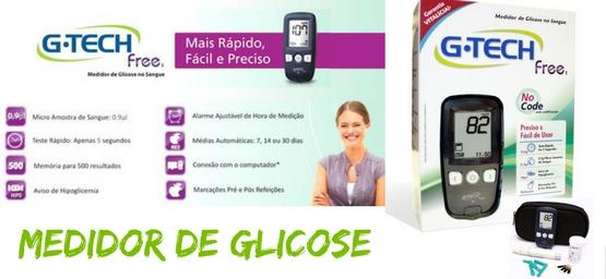 medidor glicose