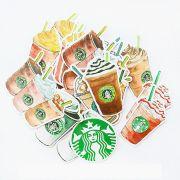 Adesivos - Starbucks