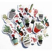 Adesivos - Vasos Cactus