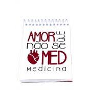 Caderneta - AMOR QUE NÃO SE MED - MEDICINA