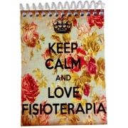 Caderneta - KEEP CALM AND LOVE FISIOTERAPIA