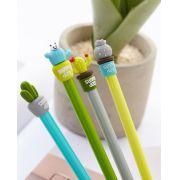 Caneta -  Cactus -  Kit com 4 canetas