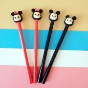 Caneta - Mickey e Minnie - kit com 2 canetas
