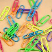 Clips colorido c/50