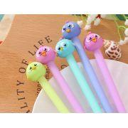 Caneta - Modelo Birds - Kit com 4 canetas