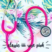 Estetoscópio 3M™ Littmann® Classic III™ Rosa Pink 5631