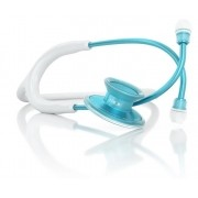 Estetoscópio Acoustica Lightweight - White & Aqua