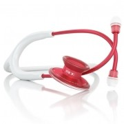 Estetoscópio Acoustica Lightweight - White & Red