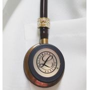 Estetoscópio Littmann Classic III Chocolate / Copper Finish 5809 3M + Bling Angel