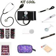 KIT COOL BLACK COM BOLSA TRANSPARENTE