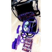 KIT COOL PURPLE COM BOLSA TRANSPARENTE