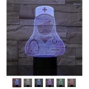 Luminária Enfermeira - 3D